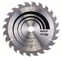 Циркулярный диск Bosch 190x20 24 Optiline