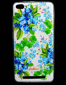 Чехол накладка для Xiaomi Redmi 3 силиконовый Diamond Cath Kidston, Прекрасные незабудки