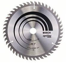 Циркулярный диск Bosch 190x20 48 Optiline