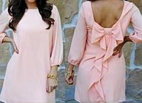 Платье шифоновое волан, фото 1