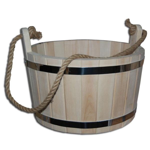 Шайка для бани липовая (7 л)