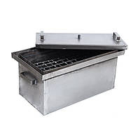 Коптильня горячего копчения с гидрозатвором (500х250х250 мм)