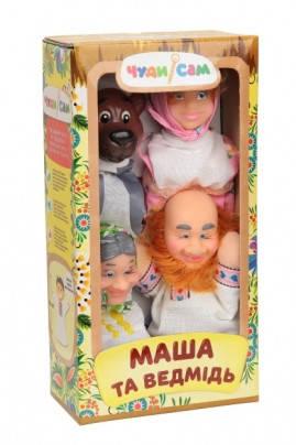 Кукольный домашний театр МАША И МЕДВЕДЬ (4 персонажа), B068, фото 2