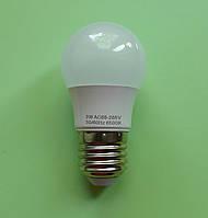 Энергосберегающая лампа Е27, светодиодная 3 Wt (25 Ватт)