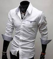 Мужская рубашка Стиляга - белая