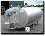 Танк охладитель молока Mueller 2800л