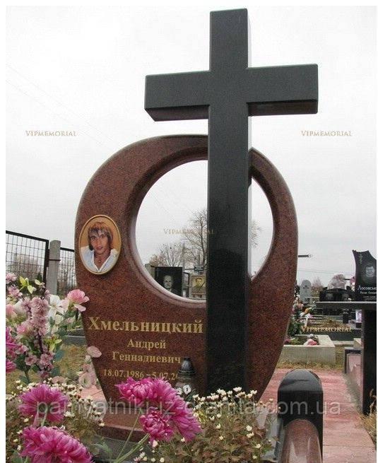 Крест из гранита № 71