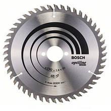 Циркулярный диск Bosch 190x30 48 Optiline