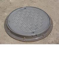 Люк канализационный чугунный типа «Л» ( легкий ) ГОСТ 3634-89