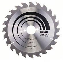 Циркулярный диск Bosch 190x30 24 OptiLine