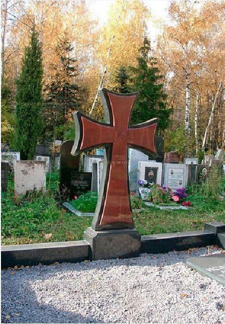 Крест из гранита № 72