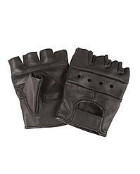 Перчатки байкерские обрезанные (Black) Mil Tec Sturm