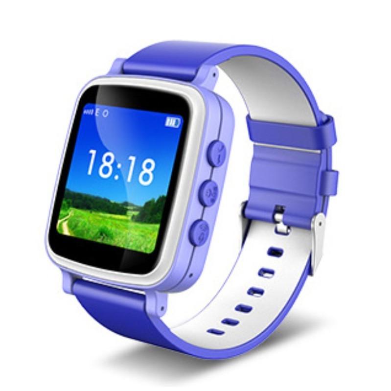 Детские часы-телефон с GPS трекером Q80