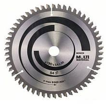 Циркулярный диск Bosch 190x20 54 Multimater