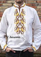 Заготовка на рубашку мужскую ЗОЛОТО