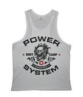 Мужская спортивная майка Boot Camp Power System белый