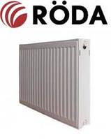Радиатор стальной Roda RSR 500х400 ➔ 22 ТИП ➔ боковое подсоединение