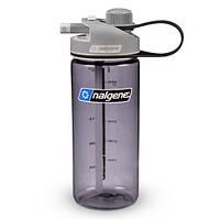 Спортивная бутылка для воды Nalgene MultiDrink 600 мл серый