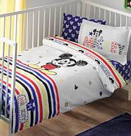 Детское постельное белье в кроватку TAC BEBEK MICKEY SKETCH BABY