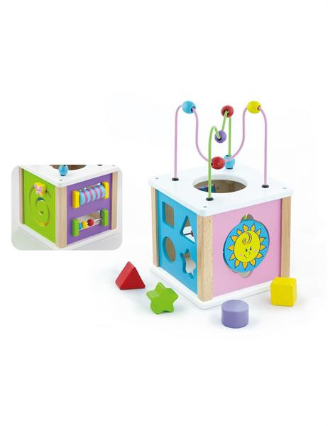 Лабиринт Viga Toys 5 в 1 (малый) (50220)