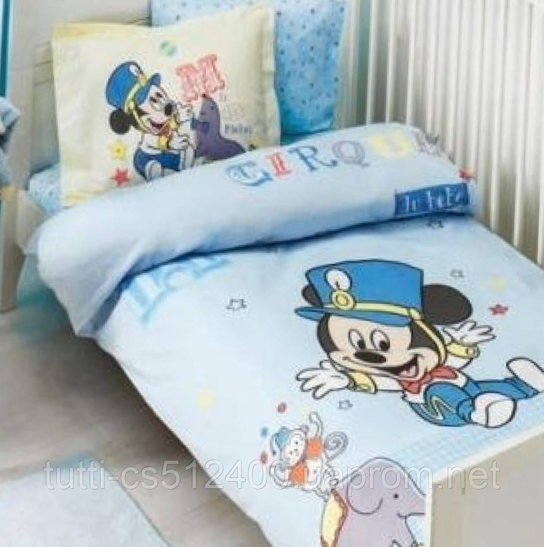 Детское постельное белье в кроватку TAC BEBEK MICKEY CIRQUE BABY ... 7406af28c07da