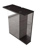 Зеркальный шкаф FANCY MARBLE ШЗ-8 (венге)