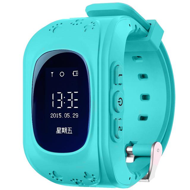 Детские часы-телефон с GPS трекером Q50