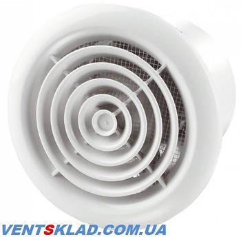 Потолочные вытяжные вентиляторы с круглой решеткой серии Вентс ПФ