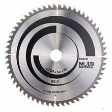 Циркулярный диск Bosch 254Х30 60 GCM 10