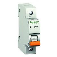 Автоматический выключатель SCHNEIDER ВА63 1P 10A C, 11202