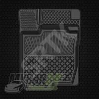 СРТК Резиновые коврики в салон Тойота Рав 4 2006-2010-
