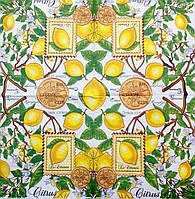 """Салфетка декупажная 33x33см 13 """"Лимонное дерево с плодами"""""""