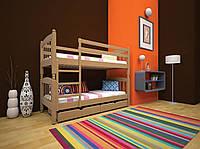 Кровать детская трансформер 3 80х190 (Бук)