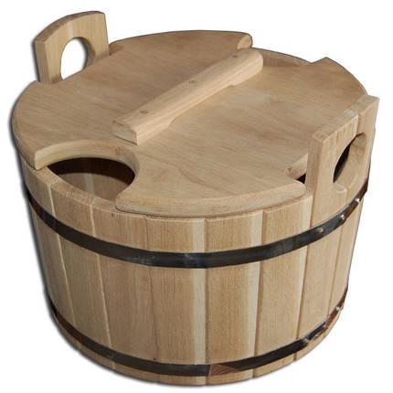 Запарник для веников, дуб (21 л, 40*26 см), фото 2