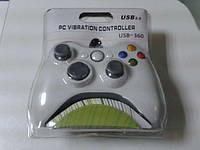 Игровой манипулятор джойстик U360 USB: 10 кнопок, вибрационная связь, USB 2.0