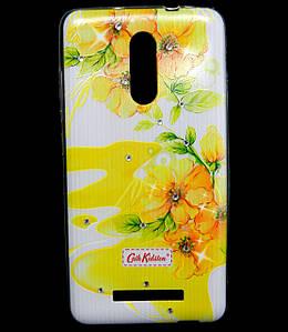 Чехол накладка для Xiaomi Redmi Note 3 силиконовый Diamond Cath Kidston, Sun Flowers