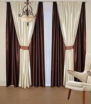 Шторный набор Шанзелизе  №3 (4 шторы+ 2 пары подхватов), фото 3