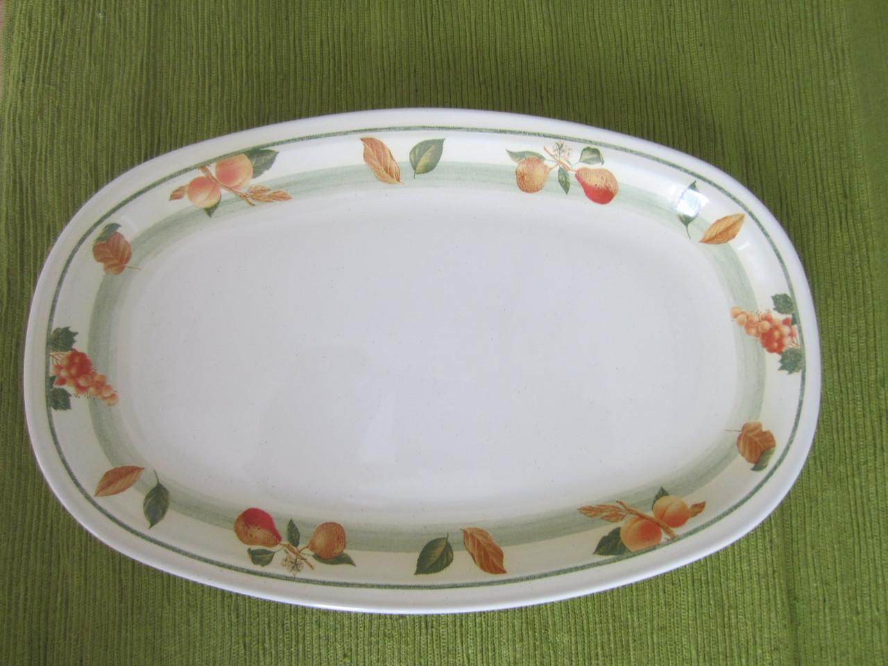 Блюдо овальное Siena