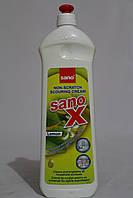Универсальный чистящий крем Sano X Лимон 700 мл