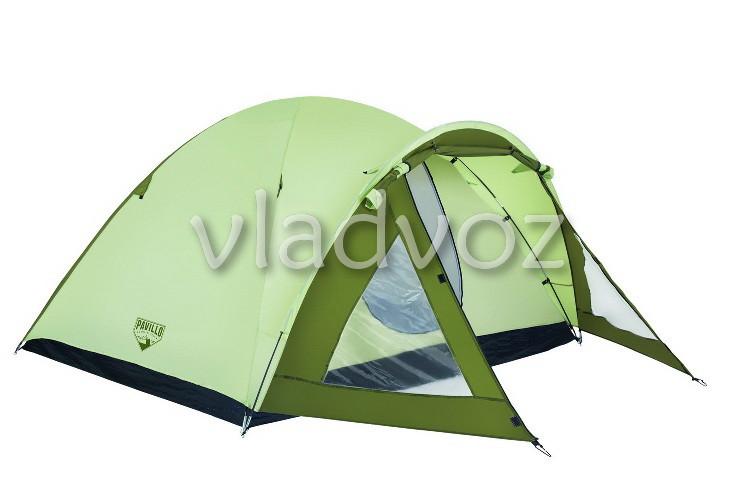Палатка туристическая кемпинговая Rock Mount для кемпинга 4 местная и чехлом