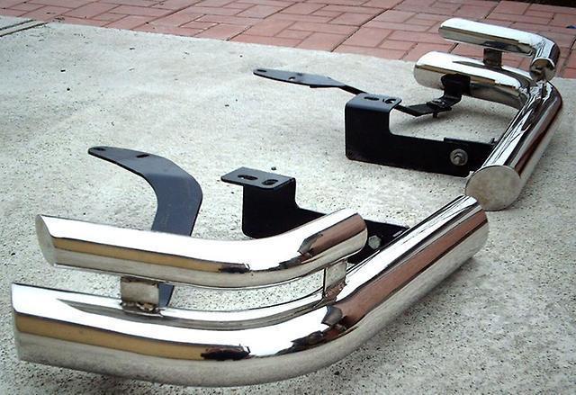Защитные дуги заднего бампера