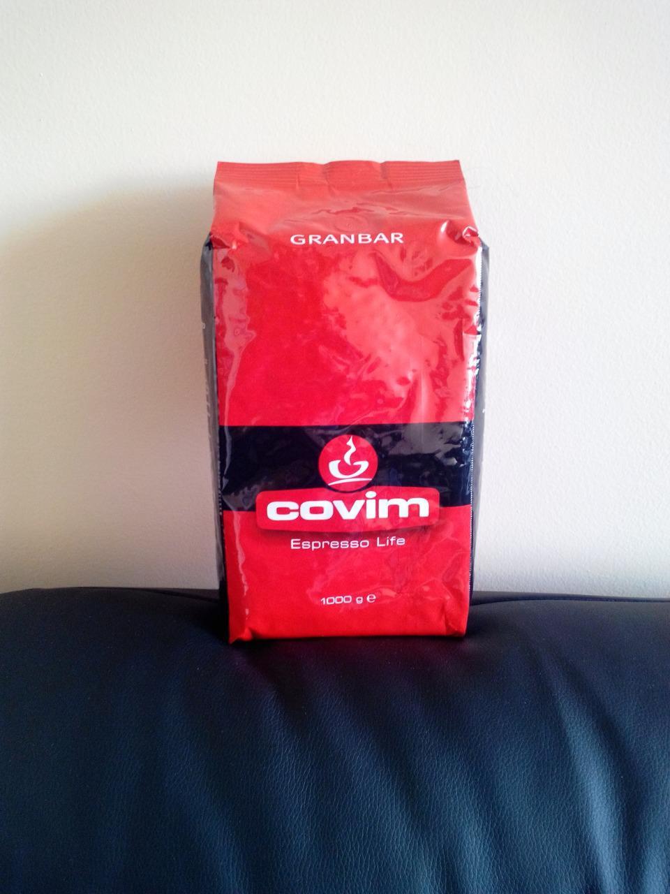 Кофе Covim Granbar (кофе Ковим Гранбар) в зернах 1 кг
