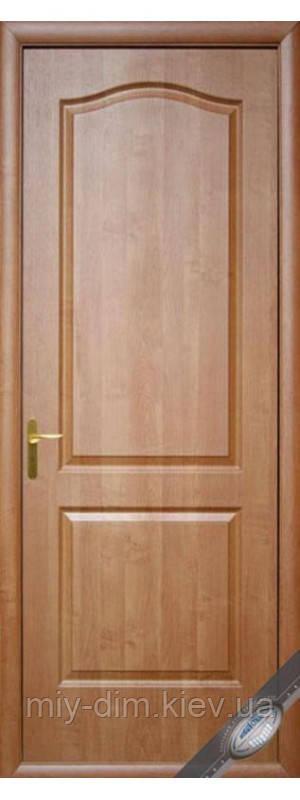 Двері Фортіс А МДФ/ПВХ Класік глухі 80 вільха