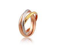 Кольцо «Тройное Сплетение», три сплетенных кольца, купить в Одессе, Киеве