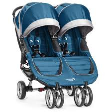 Прогулочная коляска для двойни Baby Jogger City Mini Double легкая