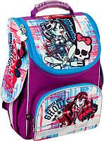 Школьный ранец каркасный Kite Monster High 501-1