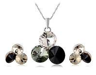 Набор украшений «Утонченность» с кристаллами Сваровски, купить в Одессе