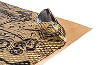 Шумоизоляция Авто STP Вибропласт Gold New 2.3 мм 53х75 см Обесшумка Виброизоляция Шумка Шумовиброизоляция, фото 1
