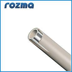 Труба PPR,PN 20  ДУ 20х3,3 композитная труба STABI(штанга по 4м.)
