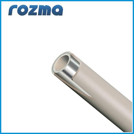 Труба PPR,PN 20  ДУ 50х7,4 композитная труба STABI(штанга по 4м.)